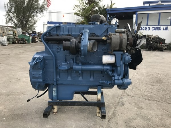 Used 1996 International Dt466 Ngd Truck Engine For Sale In Fl  1058