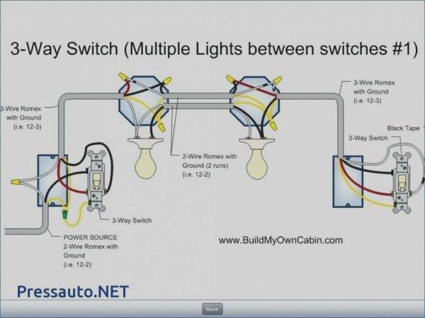 3 Way Wiring Diagram Multiple Lights