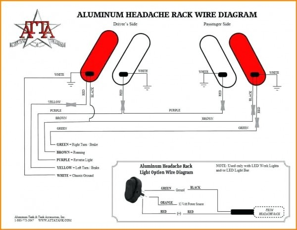 Rv Trailer Tail Light Wiring Diagram