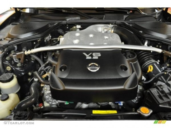 2005 Nissan 350z Anniversary Edition Coupe Engine Photos