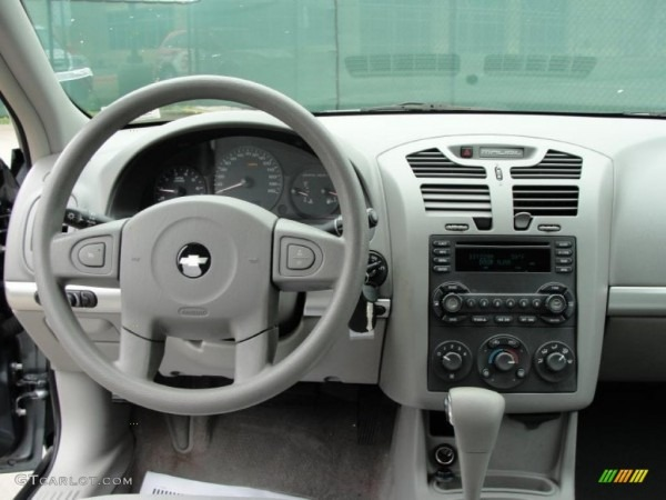 2005 Chevrolet Malibu Maxx Ls Wagon Gray Dashboard Photo  43246574