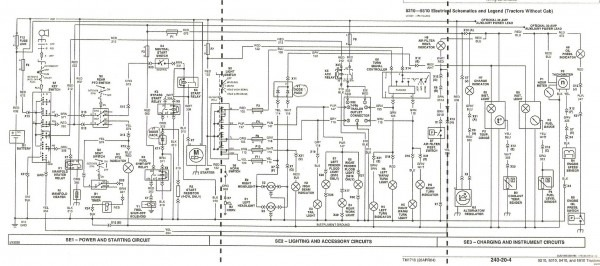 John Deere Sabre Wiring Diagram