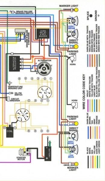 66 Chevelle Wiring Diagram