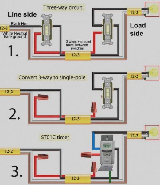4 Way Switch Light Wiring Diagram