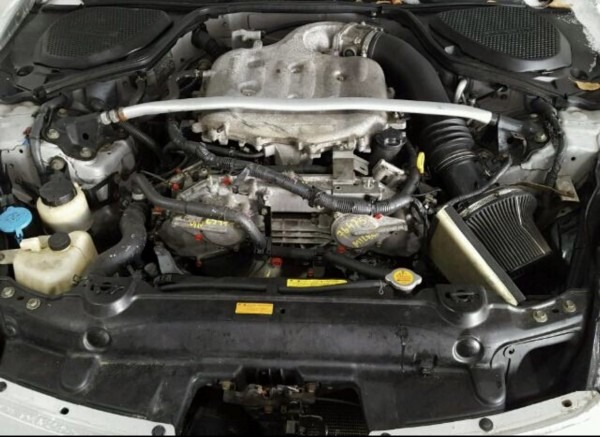 2004 350z Engine Bay