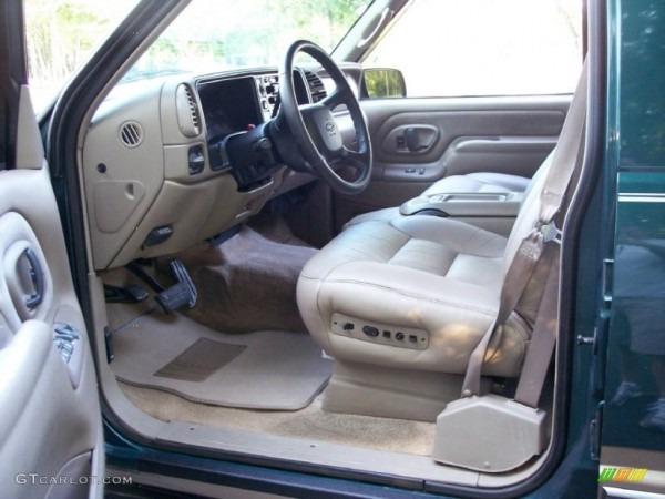 Neutral Interior 1998 Chevrolet Tahoe Lt 4x4 Photo  51352871