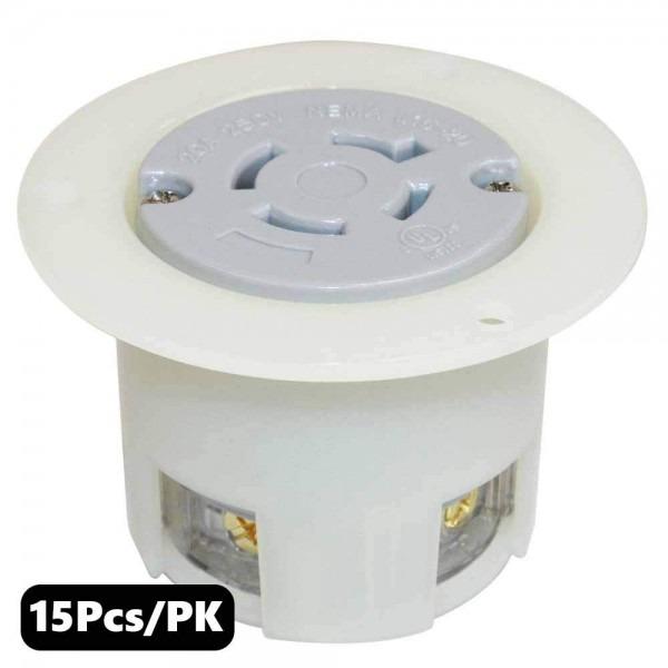 Amazon Com  Superior Electric Ygf041f Twist Lock Receptacle Flange