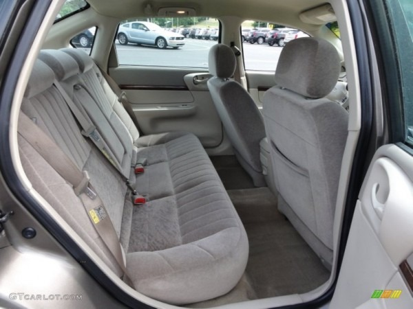 Neutral Beige Interior 2003 Chevrolet Impala Standard Impala Model