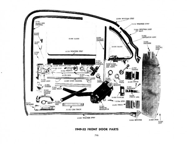 Chevrolet Parts Diagram
