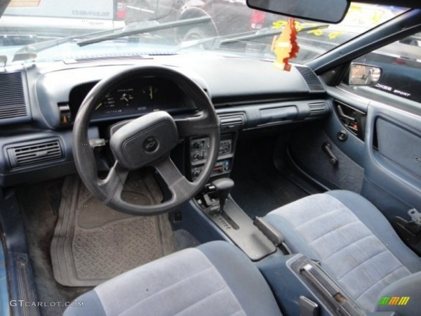 1992 Chevrolet Cavalier Vl Coupe Interior Photo  62868734