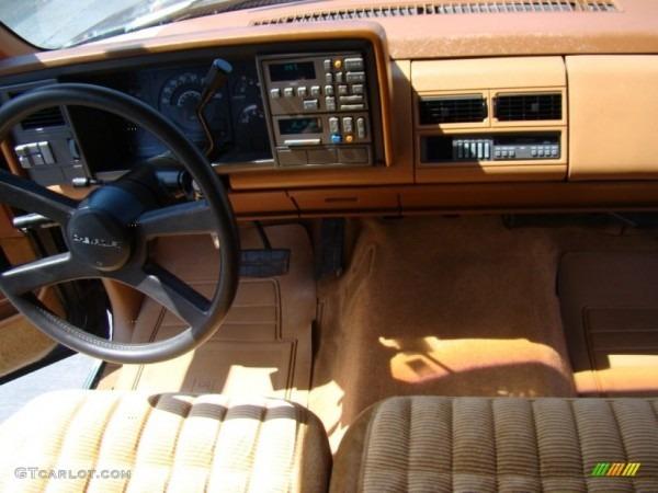 1990 Chevrolet C K C1500 Silverado Extended Cab Beige Dashboard