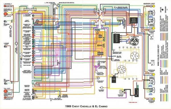 69 Chevelle Wiring Schematic