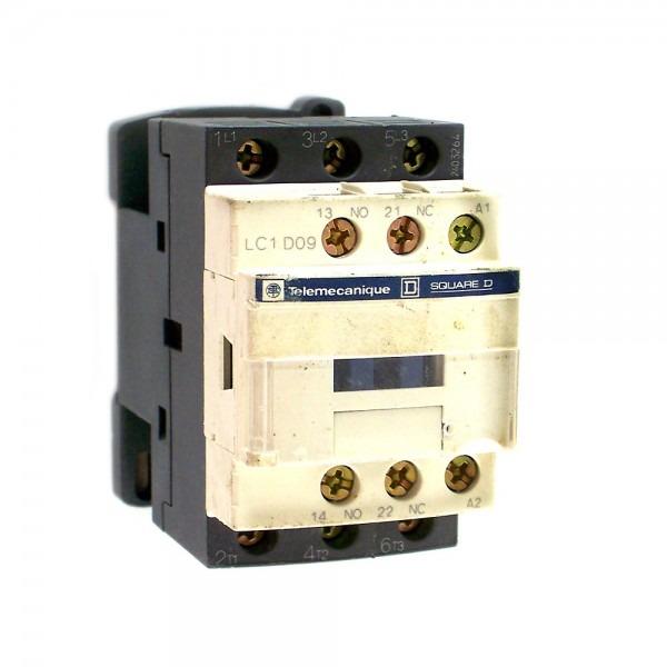 Telemecanique Square D Contactor Model Lc1 D09