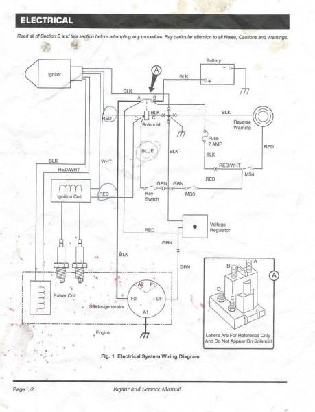 Ezgo Golf Cart Wiring Diagram Pdf