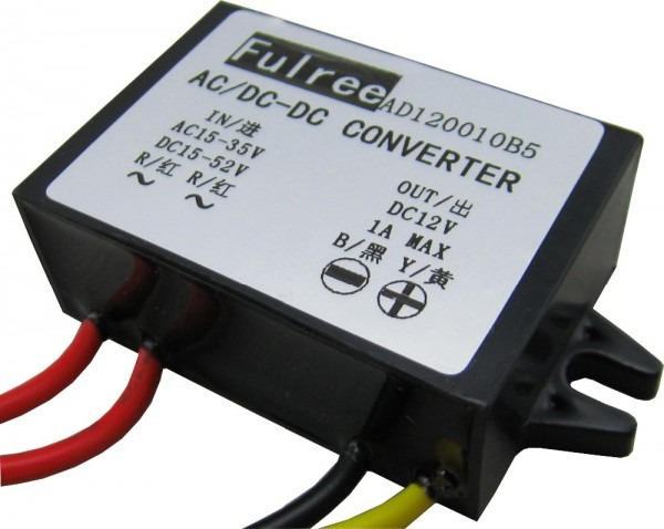Ac 24v To Dc12v 24 V 36v To 12v Ac Dc Monitoring Power Supply