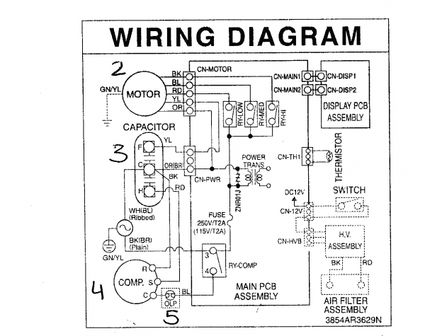 wiring diagram for condensing unit  u2013 car wiring diagram