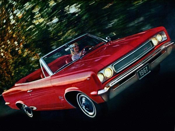 1967 Amc Rambler Rebel Sst Convertible (6717