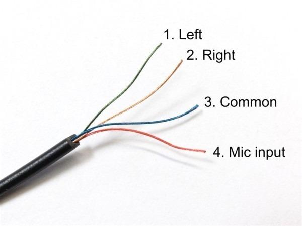 Earphone Plug Wiring