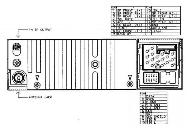 Bmw E36 Radio Harness Diagram Wiring 1
