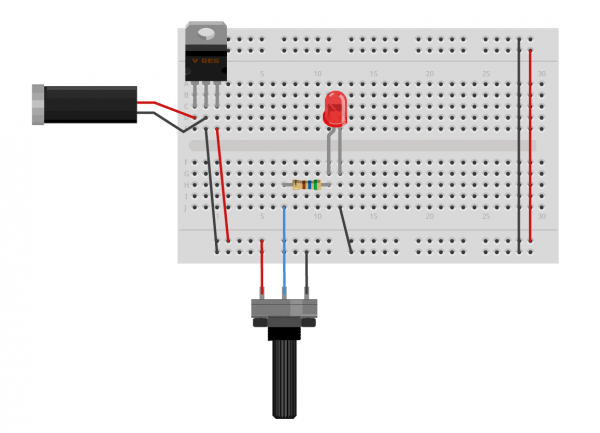 Potentiometer Connection Diagram