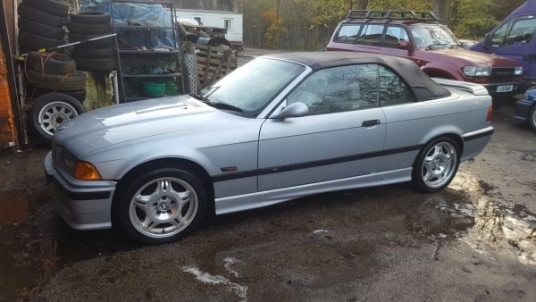 Ebay  Bmw E36 M3 1994 Convertible Barn Find Not Salvage No Reserve