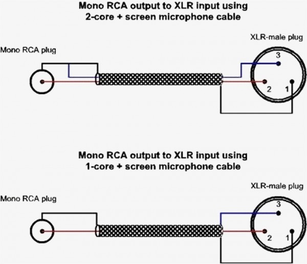 5 Pin Xlr Connector Wiring Diagram