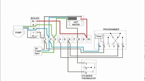 Central Heating Timer Wiring Diagram