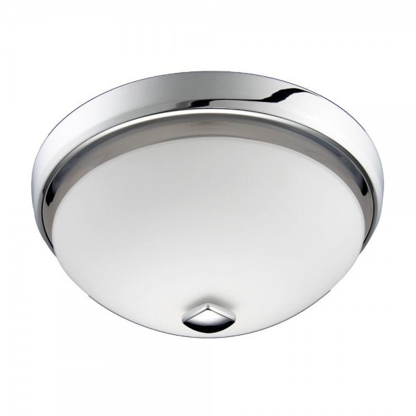 Nutone Decorative Chrome 100 Cfm Ceiling Bathroom Exhaust Fan With