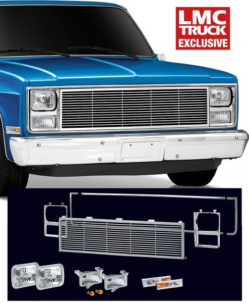 Se Front End Dress Up Kit With Rectangular Single Headlights