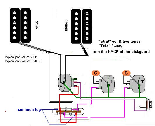 Wiring Diagram For Humbucker Stratocaster