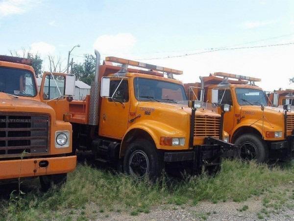 1995 International 4900 Heavy Duty Dump Truck For Sale