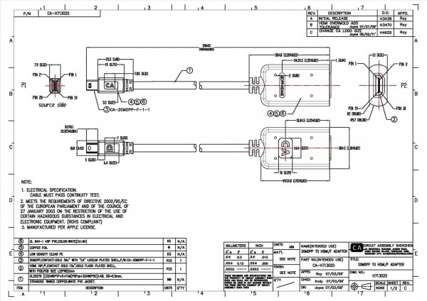 Wiring Diagram For Displayport