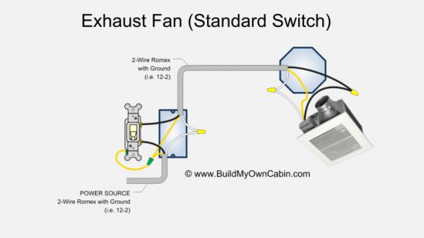 Exhaust Fan Wiring Diagram Australia
