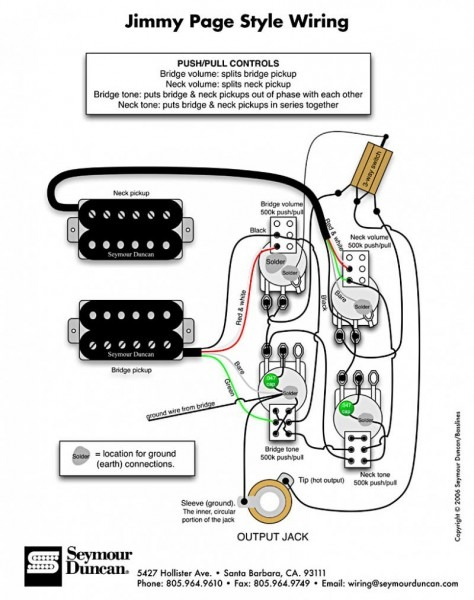Wiring Diagrams Seymour Duncan Automanualparts