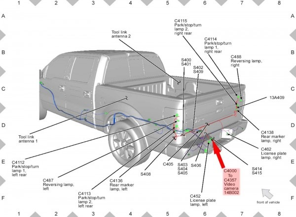 Ford F150 Trailer Wiring Harness Diagram – Volovets Info