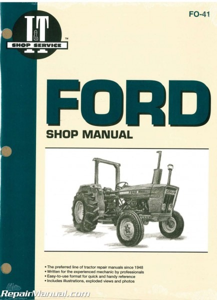 Ford New Holland 2310 2600 2610 3600 3610 4100 After 1974