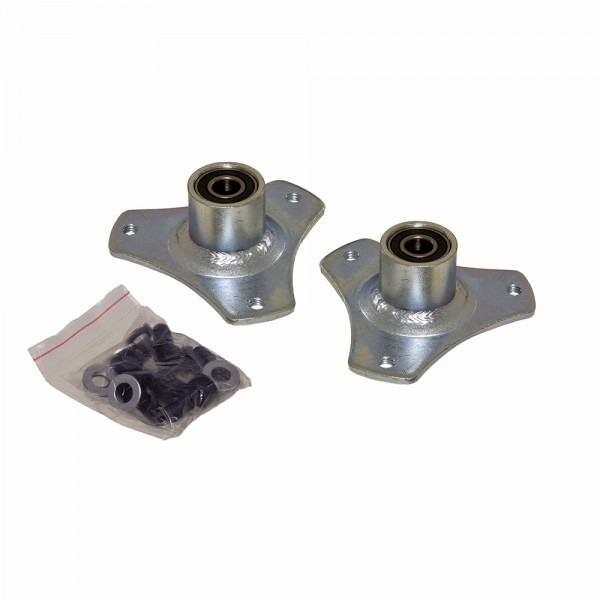 Front Wheel Flanges With Bearings For The Razor Dirt Quad