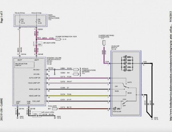 Ford F 150 Trailer Wiring Diagram