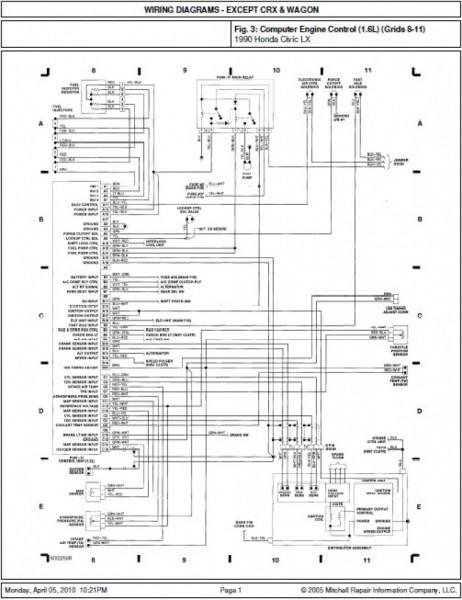 Honda Crx Wiring Diagram