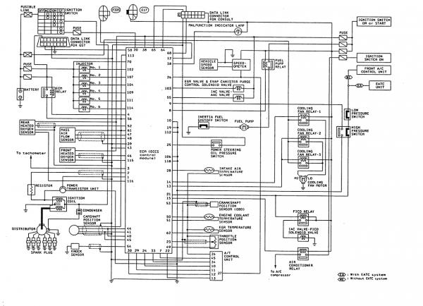 Maxima Engine Sensor Parts Diagram