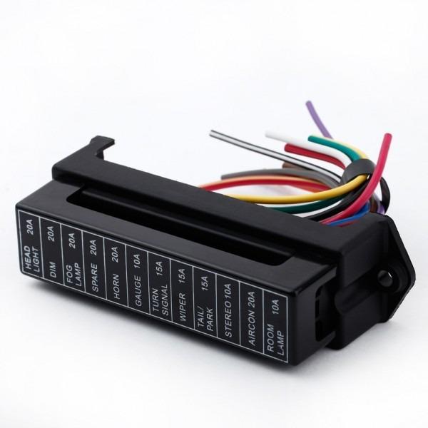 12 Way Dc 12v Volt Fuse Box 24v 32v Circuit Car Trailer Auto Blade