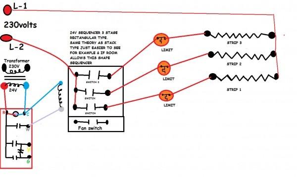 Furnace Fan Relay Wiring
