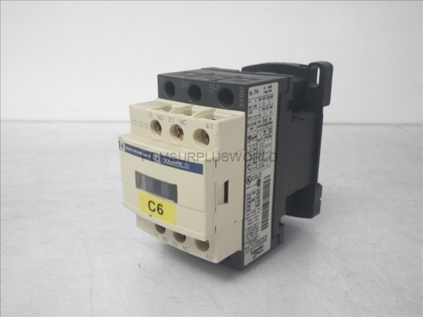 Lc1d12 Telemecanique Square D Contactor 25a 690v (used And Tested