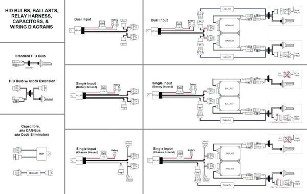 Relay Diagram For Spotlights