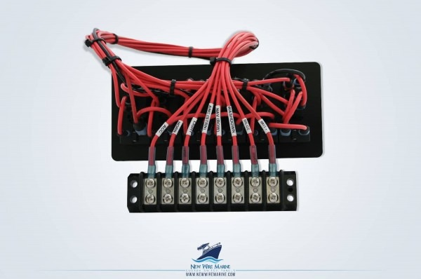 Marine Switch Panel Interface With Terminal Block Min New Wire