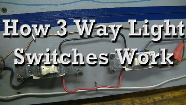 How 3 Way Light Switches Work (re