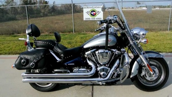 2008 Kawasaki Vulcan 2000 Classic Lt Loaded With Accessories And