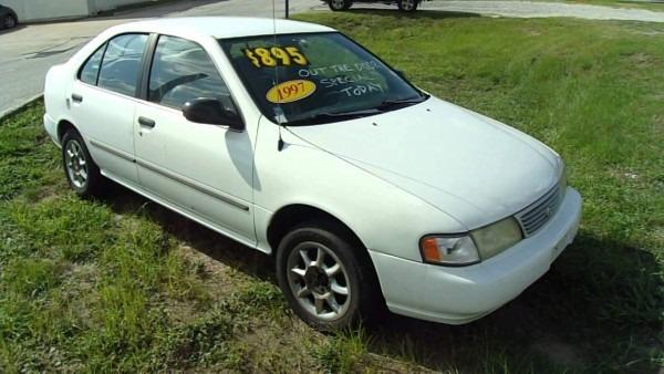 1997 Nissan Sentra Gxe
