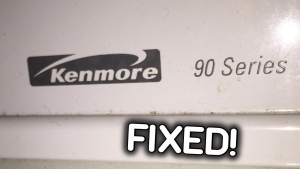 Fixed Kenmore 90 Dryer  No Heat