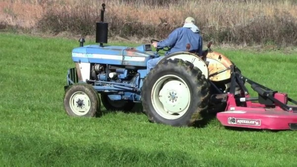 Dad On His Tractor